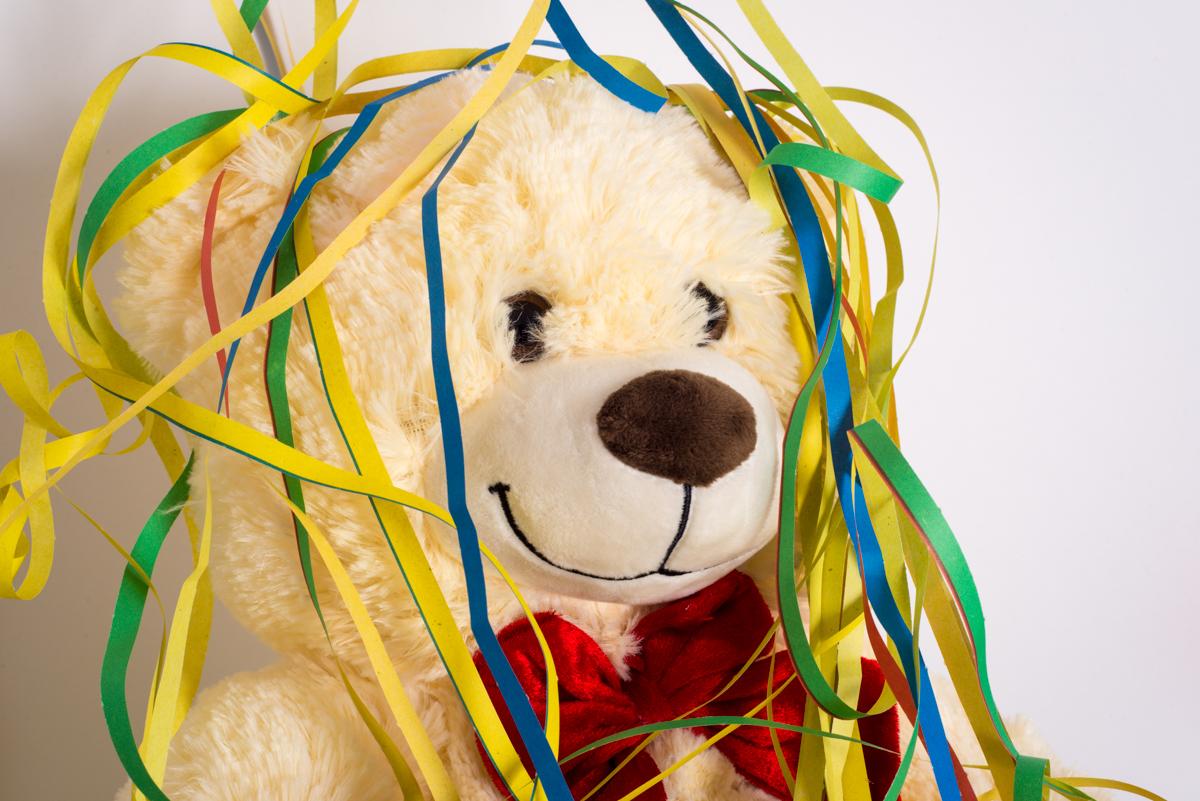 sabrina pezzoli fotografo arezzo orsetto con stelle filanti